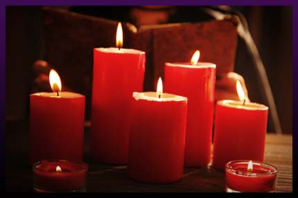 Real love spells candles