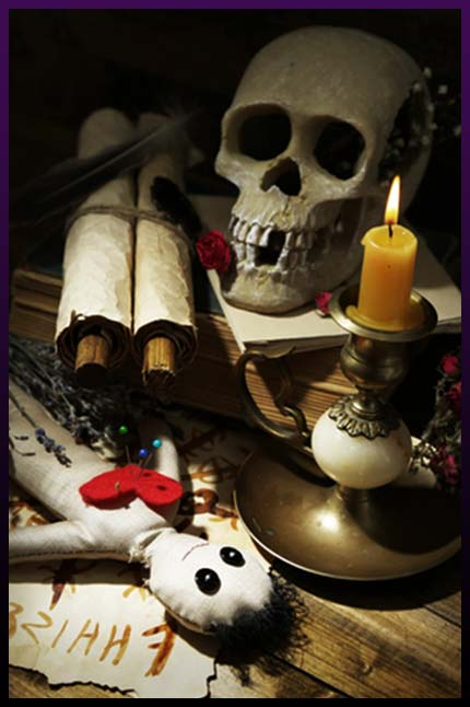 Voodoo doll love spells