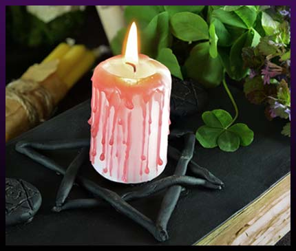 Strong candle spells