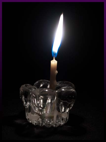 White candle spells to heal the sexual functions