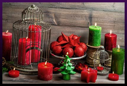 Candles color for love spells