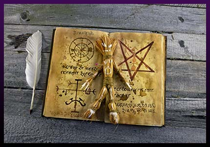 Black Magic protection spell book