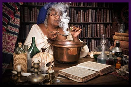 Voodoo spells and rituals