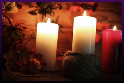Marriage love candle spell