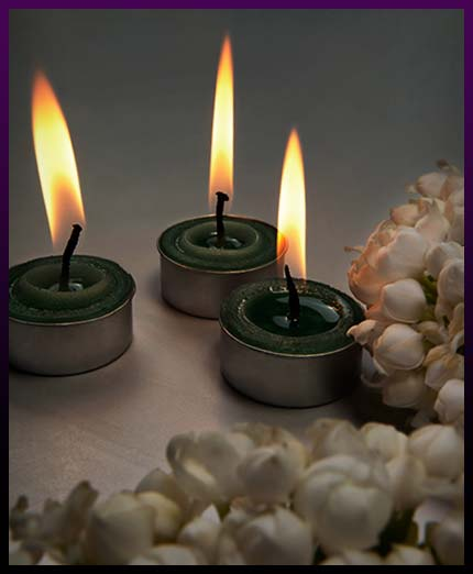 Сasting candle love spell