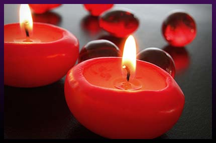 Magic candles to attract someone