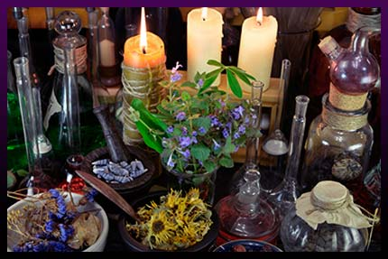 Herbs and plants in love magic - How to use it correctly