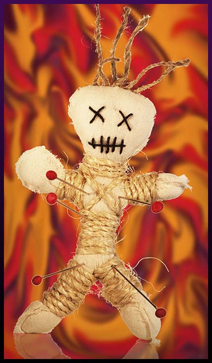 Voodoo doll spell and ritual