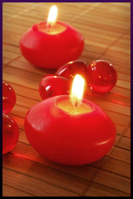 love magic spell candle