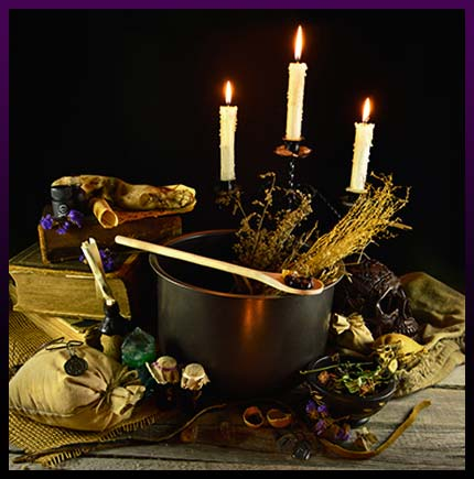 Powerful good luck spell candles ritual