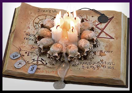 Spell book for protection