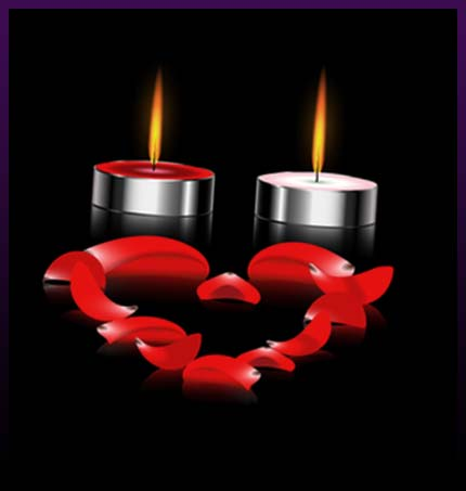 Two candle love spell today