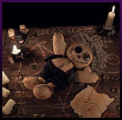 Voodoo love spells - Effective voodoo dolls for love rituals