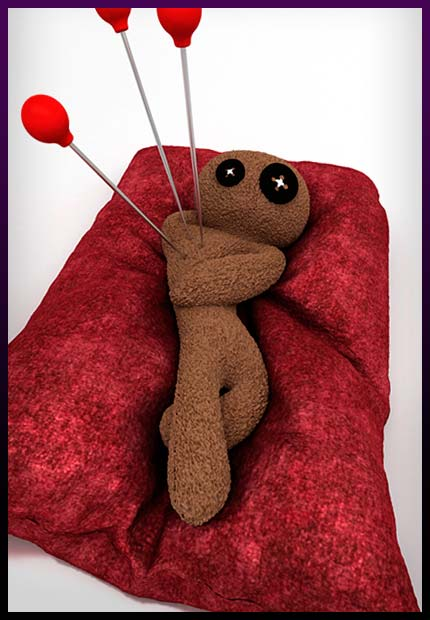 Voodoo doll for powerfull revenge spell