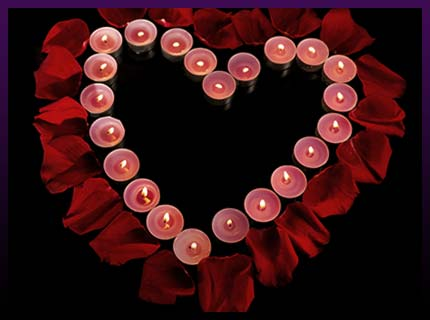 White candle true love spell
