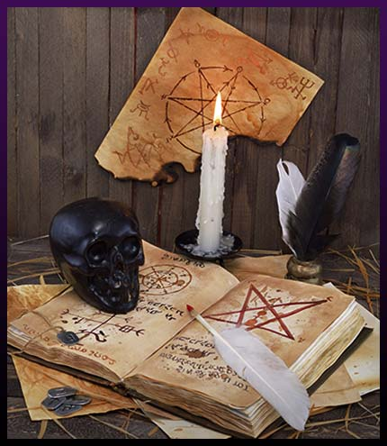 Witchcraft candle love spells
