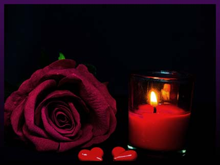 Authentic love candle spell