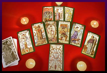 Tarot magic ritual
