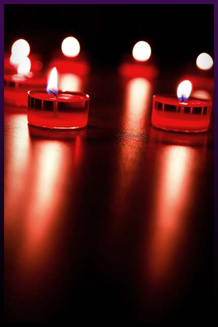 Witchcraft love candles spells