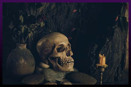 Strongest black magic spells with skull