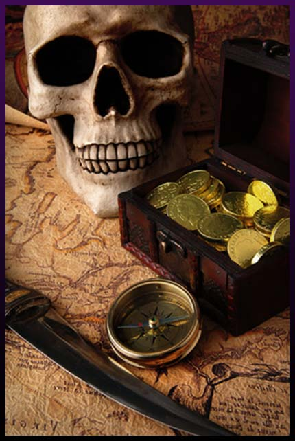 Attract money with magic skull