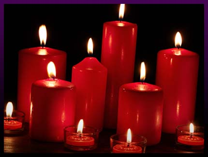Magic candles spells for love