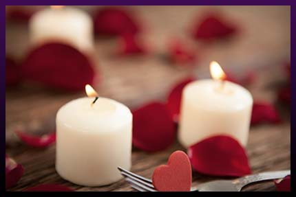 White magic love candle spells