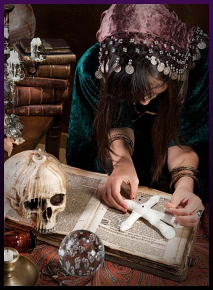 Simple voodoo love spells - What do you need for casting?