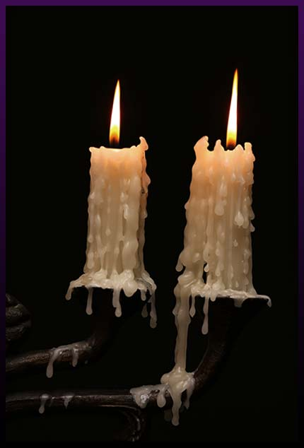 Voodoo love spells candles