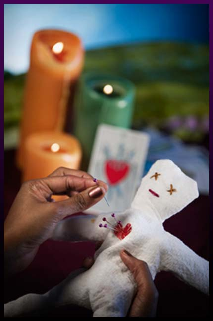 Voodoo marriage spell