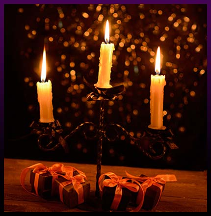 Witchcraft spells candles