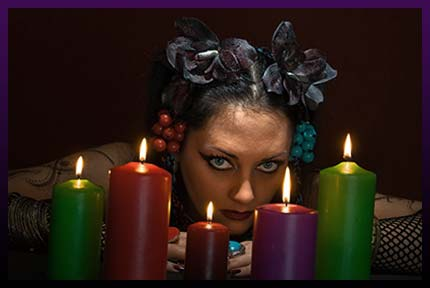 Casting a candle love spell