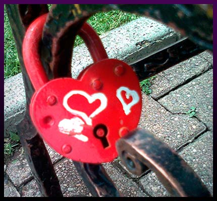Love spell lock