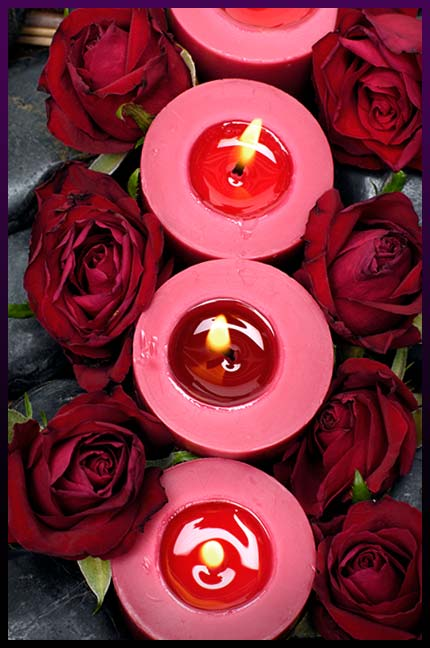 Find true love candle spell