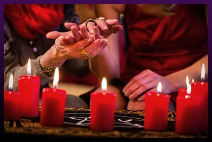 Love candle spell experiences