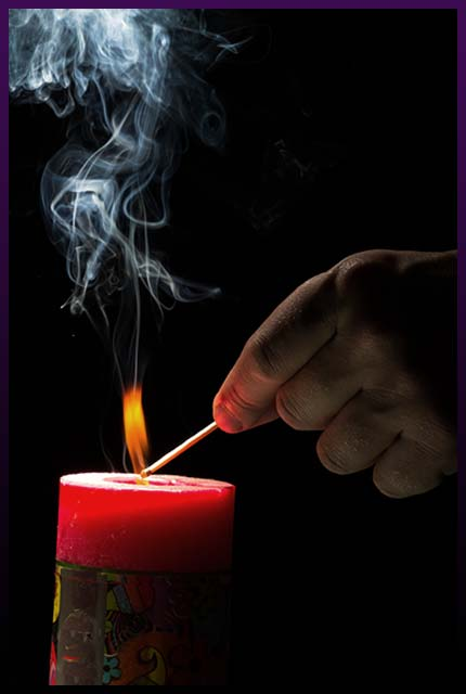 Powerful obsession love candle spell