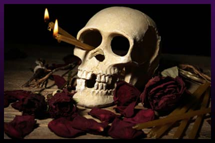 Skull magic love spell
