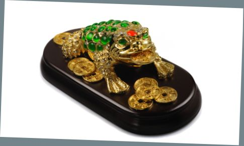 "Magic talisman ""The money frog"""