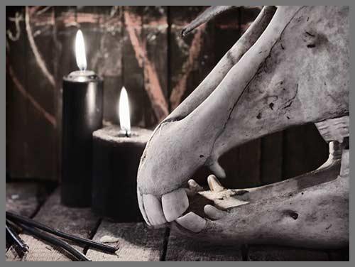 Voodoo death curse work